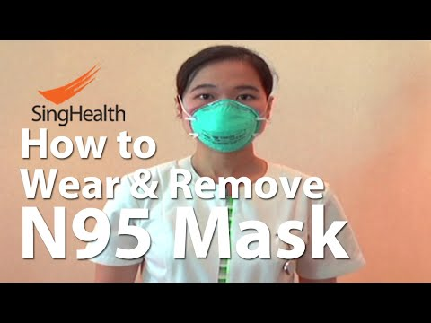 N95 3M Mask: How To Wear And Remove