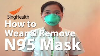 Gambar cover N95 3M mask: How to Wear & Remove