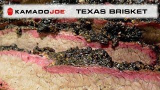 Kamado Joe Texas Style Brisket