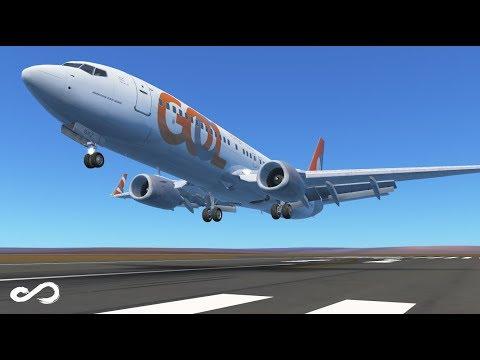GOL Airlines 2018 | B737 - 800 | Tancredo Neves to Brasília | Infinite Flight Global