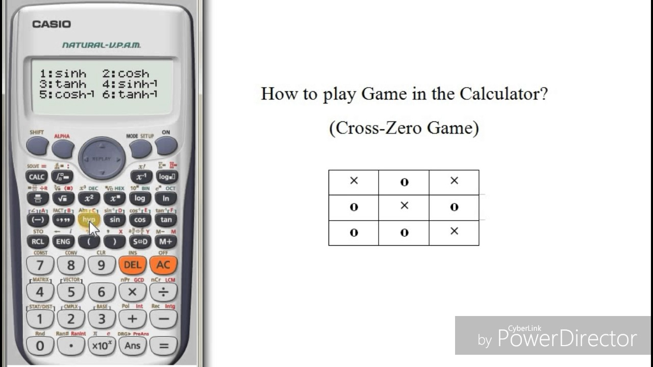 how to hack a calculator to play games