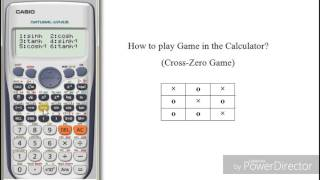 How to play a game in Calculator | Casio fx991es plus | The Calculator King