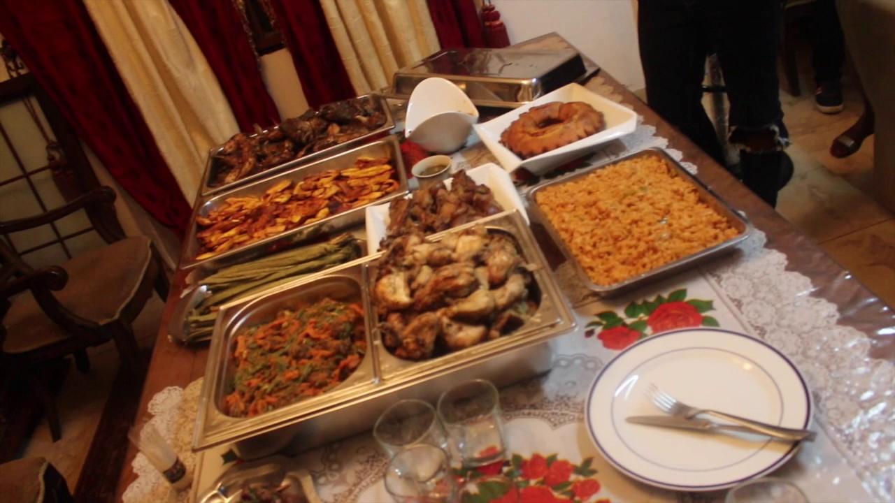 dinner birthday party cameroon fun