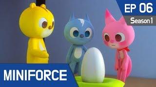 MINIFORCE Season 1 Ep6: Mini Force and Baby Iguana