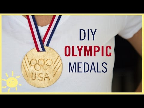 DIY | Olympic GOLD Medals