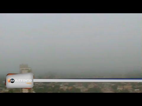 Presidente Prudente amanhece com neblina intensa