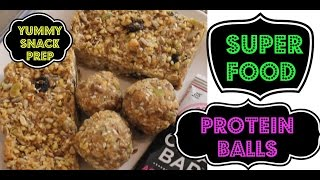 Meal Prep Some Snacks | Coconut Maca Seed Balls | Protein Balls (no Bake!) | Healthy Snack