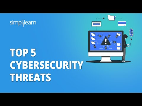 Top 5 Cybersecurity Threats   Cyber Security Threats   Cyber Security