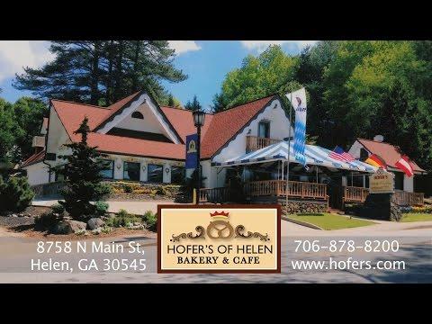 Hofer's Of Helen  Bakery & Cafe In Alpine  Helen, GA