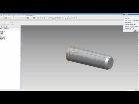 Pro/Engineer Basic Modeling Tutorial