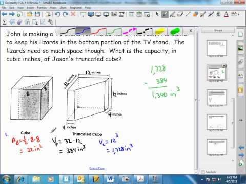 Volume ofTruncated Cube and Volume of An Ice Cream Cone.wmv