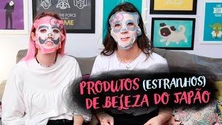 TESTANDO PRODUTOS DE BELEZA DO JAPÃO feat FOQUINHA - Karen Bachini