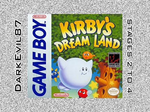 Kirby's Dream Land - Stages 2 to 4