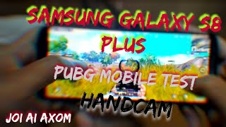 SAMSUNG GALAXY S8 PLUS PUBG TEST | leg fix 60FPS Gameplay | PUBG MOBILE