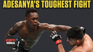 Film Room: What Yoel Romero can learn from Israel Adesanya's toughest UFC fight | ESPN MMA