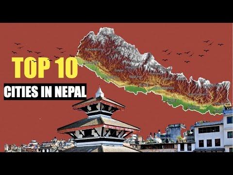 Top 10 cities in Nepal - Kathmandu, Pokhara, Birgunj, Biratnagar, Dharan