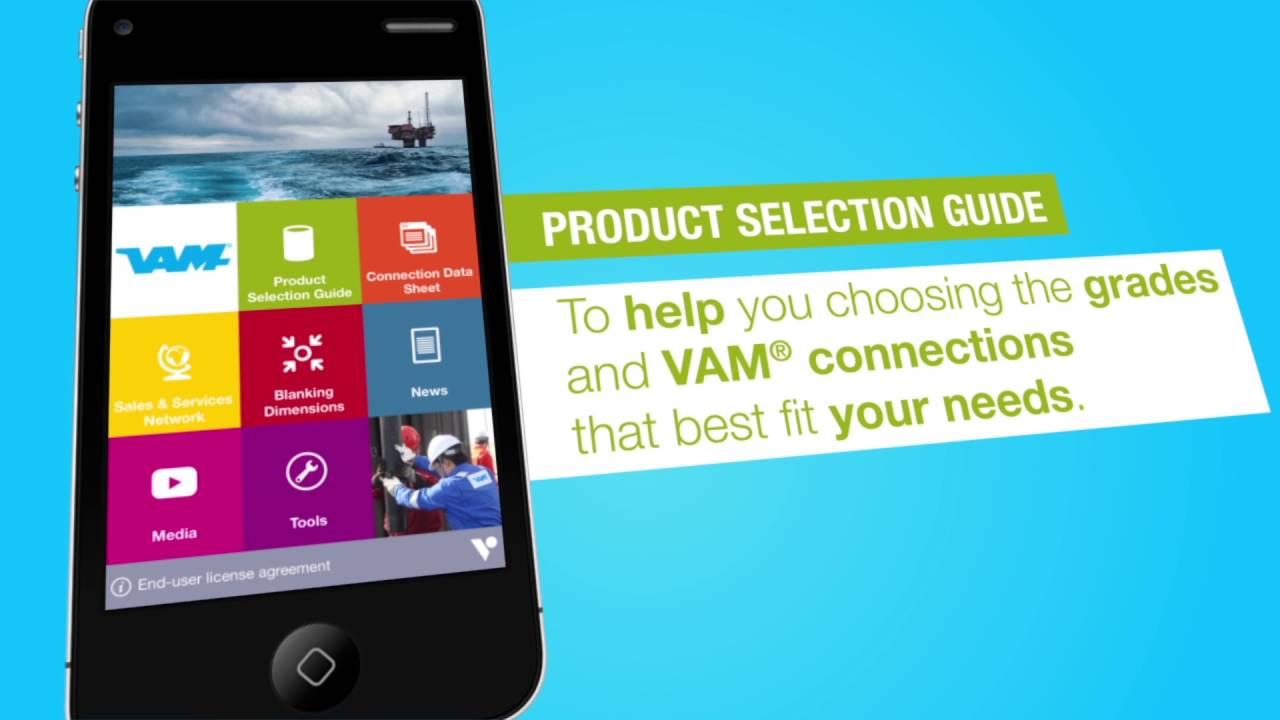 Get the Vallourec Oil & Gas App now!