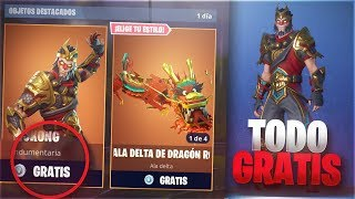 HOW TO GET THE WHOLE FREE ITEM STORE IN FORTNITE FREE V-BUCKS IN FORTNITE