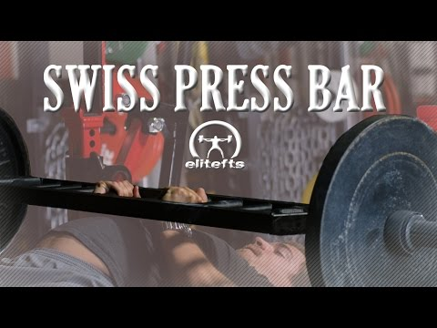 elitefts.com - Swiss Press Bar (Five Grip Drop Set)