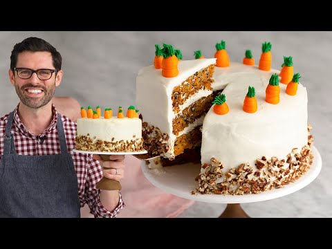 Amazing Carrot Cake Recipe