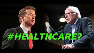 Gambar cover BERNIE SANDERS VS RAND PAUL On USA Healthcare