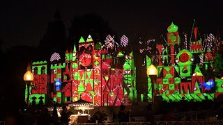 it's a small world Disneyland Holiday Lights