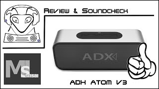 adx audio dynamix atom v3 review soundcheck der beste fr