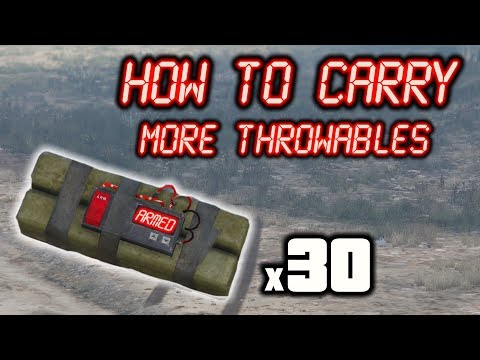 GTA Online: How To Carry More Throwable Weapons (Get 30 Sticky Bombs)