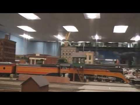 A Visit to the Detroit Model  Railroad Club
