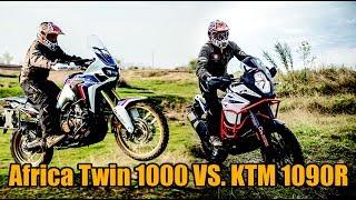 KTM 1090R ADV vs. Honda Africa Twin 1000 -  Part3