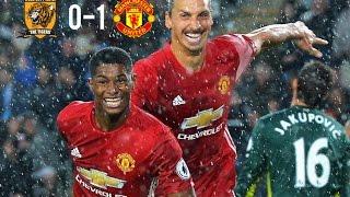 Hull City Vs Manchester United 0-1 Full Highlights - Premier League 2016 HD