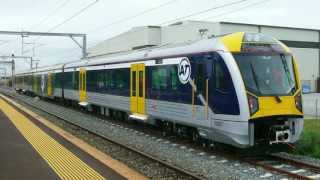 Aucklands NEW Electric Trains from CAF, Spain. Testing + (New Horn)