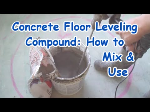 Self Leveling Compound Mapei On Concrete Floor How To Mix