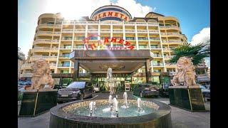 Planeta Hotel Aquapark All Inclusive 5 Планета Болгария Солнечный берег обзор отеля