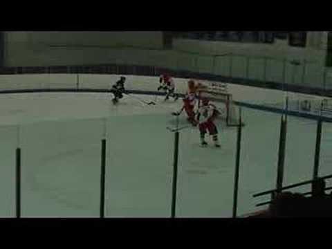 Oakland University Hockey Brett Haugh Goal