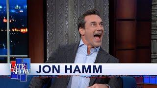 Jon Hamm Met Donald Trump At An SNL Afterparty