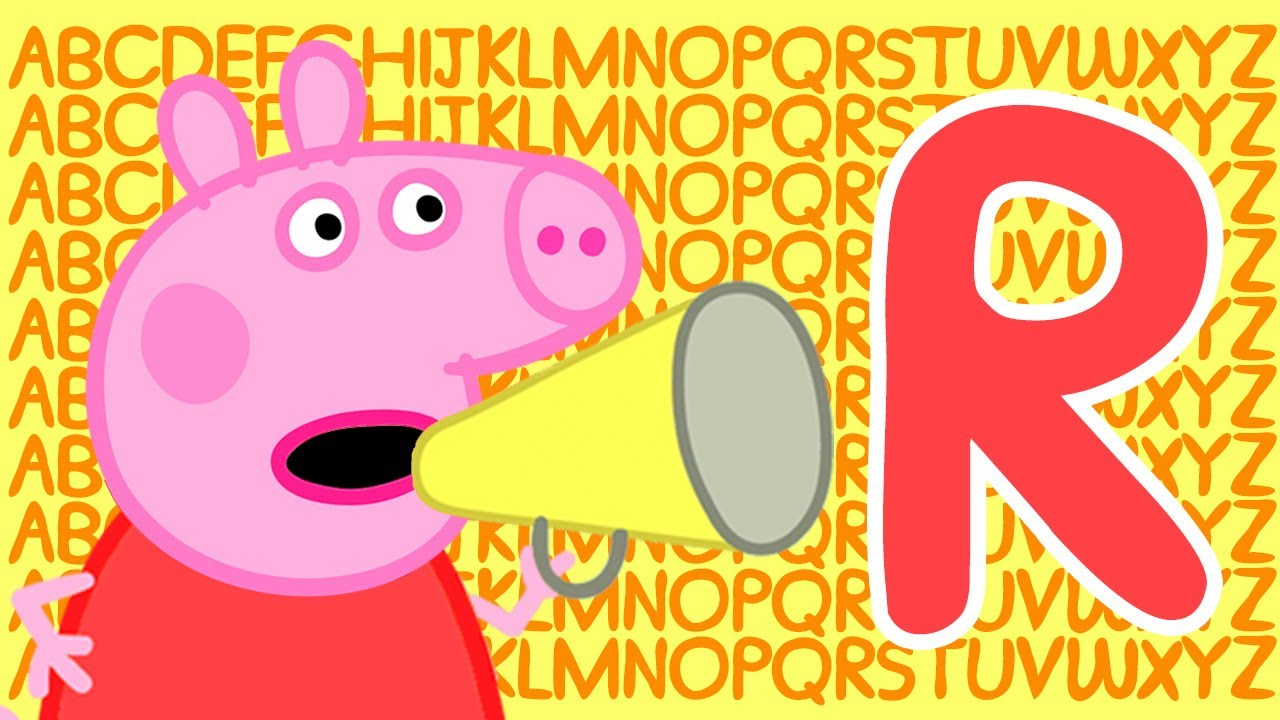 Peppa Pig 🔠 Letter R | Learn the Alphabet with Peppa Pig | ABC Letter Boxes | Learn with Peppa Pig