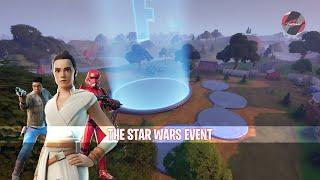 The Fortnite X Star Wars Event LIVE!