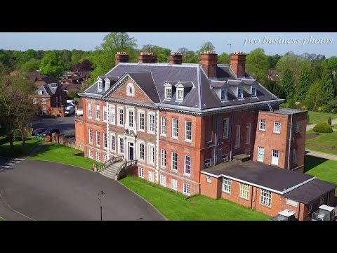 Drone video: The Childrens Trust Tadworth from Pro Business photos
