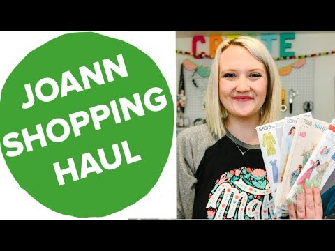 JOANN SHOPPING HAUL — Fabric Haul, Joann Fabrics, Fabric Shopping