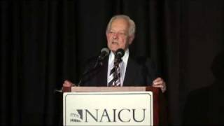 AIM: Bob Schieffer at NAICU - Objectivity vs Fairness