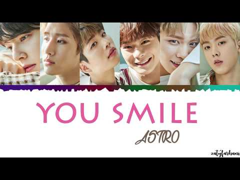 ASTRO - You Smile (니가 웃잖아) Lyrics [Color Coded_Han_Rom_Eng]