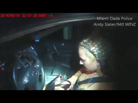Woman's alleged attempt to get out of ticket fails