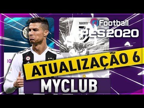 MyClub PES 2020 - ATUALIZAÇÃO 6 - EMPRESÁRIO INTER X JUVENTUS