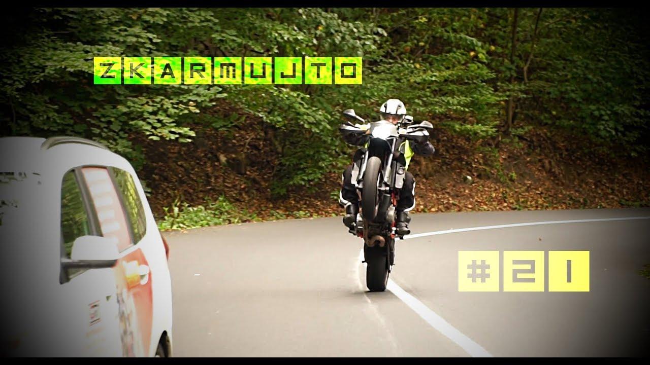 Zkarmujto #21 - Bukvičáckej W800 motovlog, KTM950smr