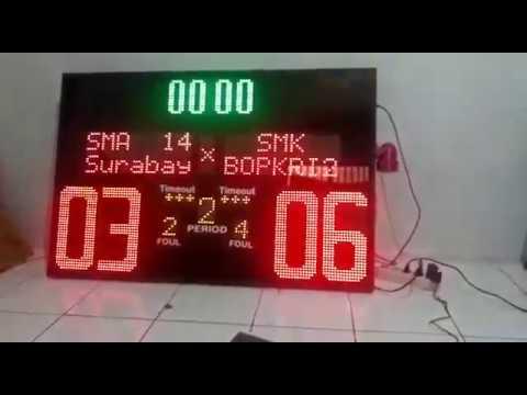 papan skor basket CP: Jati 0818468413 skoring scoreboard score 120x80