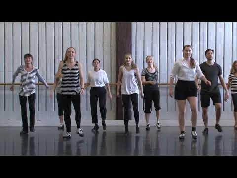 Leon Collins #53 at Sydney Dance Company Studios