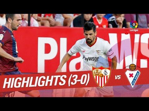 Resumen de Sevilla FC vs SD Eibar (3-0)