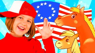 Yankee Doodle - Songs for Children | Baby Kids Song TV