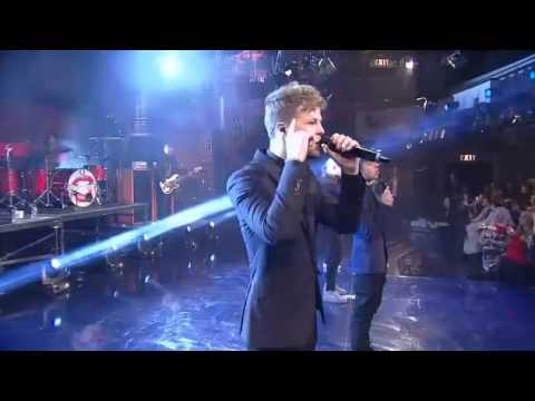 The Wanted - Warzone Live On Letterman (HD)